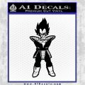 Dragon Ball Z DBZ Anime Decal Sticker ST Black Logo Emblem 120x120