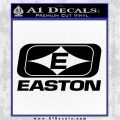 Easton Archery Logo Decal Sticker Black Logo Emblem 120x120