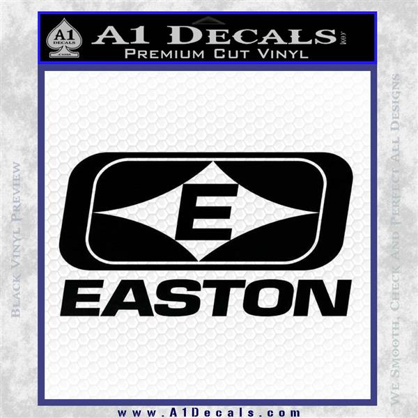 Easton Archery Logo Decal Sticker Black Logo Emblem