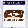 Easton Archery Logo Decal Sticker Brown Vinyl 120x120