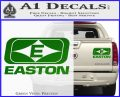 Easton Archery Logo Decal Sticker Green Vinyl 120x97