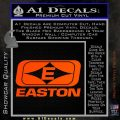 Easton Archery Logo Decal Sticker Orange Vinyl Emblem 120x120