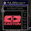 Easton Archery Logo Decal Sticker Pink Vinyl Emblem 120x120
