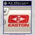 Easton Archery Logo Decal Sticker Red Vinyl 120x120