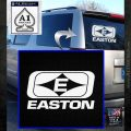 Easton Archery Logo Decal Sticker White Emblem 120x120