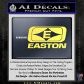 Easton Archery Logo Decal Sticker Yelllow Vinyl 120x120