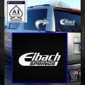 Eibach Springs DW Decal Sticker White Emblem 120x120