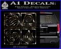 Elements Avatar The Last Airbender Vinyl Decal 3dc 120x97