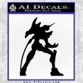 Evangelion Unit 01 Anime Decal Sticker Black Logo Emblem 120x120
