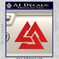 Fallen Warrior Military Decal Sticker Red Vinyl 120x120