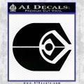 Ferengi Alliance Decal Sticker Star Trek Black Logo Emblem 120x120