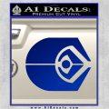 Ferengi Alliance Decal Sticker Star Trek Blue Vinyl 120x120