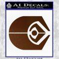 Ferengi Alliance Decal Sticker Star Trek Brown Vinyl 120x120