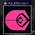 Ferengi Alliance Decal Sticker Star Trek Hot Pink Vinyl 120x120