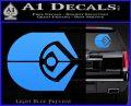 Ferengi Alliance Decal Sticker Star Trek Light Blue Vinyl 120x97