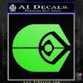 Ferengi Alliance Decal Sticker Star Trek Lime Green Vinyl 120x120