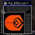 Ferengi Alliance Decal Sticker Star Trek Orange Vinyl Emblem 120x120