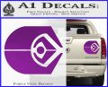 Ferengi Alliance Decal Sticker Star Trek Purple Vinyl 120x97