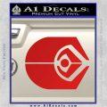 Ferengi Alliance Decal Sticker Star Trek Red Vinyl 120x120