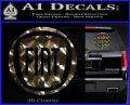 Fiat Logo CR Decal Sticker 3dc 120x97