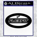 FlexFit OV Decal Sticker Black Logo Emblem 120x120