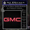 GMC Decal Sticker TX Pink Vinyl Emblem 120x120