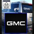 GMC Decal Sticker TX White Emblem 120x120