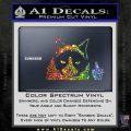 GRUMPY CAT MIDDLE FINGER VINYL DECAL STICKER Sparkle Glitter Vinyl 120x120