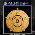 Game of Thrones House Tyrell Metallic Gold Vinyl 120x120