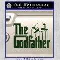 Godfather Film RDZ Decal Sticker Dark Green Vinyl 120x120