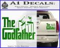 Godfather Film RDZ Decal Sticker Green Vinyl 120x97