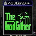Godfather Film RDZ Decal Sticker Lime Green Vinyl 120x120
