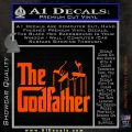Godfather Film RDZ Decal Sticker Orange Vinyl Emblem 120x120