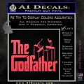 Godfather Film RDZ Decal Sticker Pink Vinyl Emblem 120x120