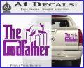 Godfather Film RDZ Decal Sticker Purple Vinyl 120x97