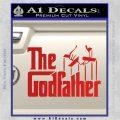Godfather Film RDZ Decal Sticker Red Vinyl 120x120