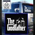 Godfather Film RDZ Decal Sticker White Emblem 120x120