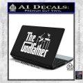 Godfather Film RDZ Decal Sticker White Vinyl Laptop 120x120