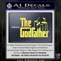 Godfather Film RDZ Decal Sticker Yelllow Vinyl 120x120