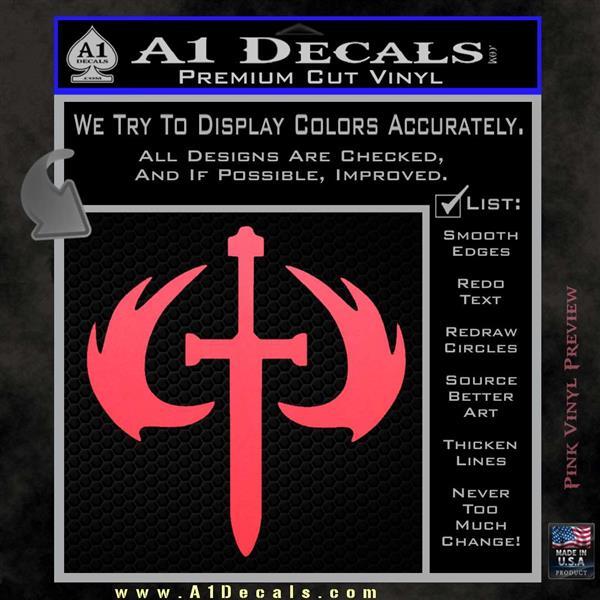 Halo 2 Sword Emblem Decal Sticker A1 Decals