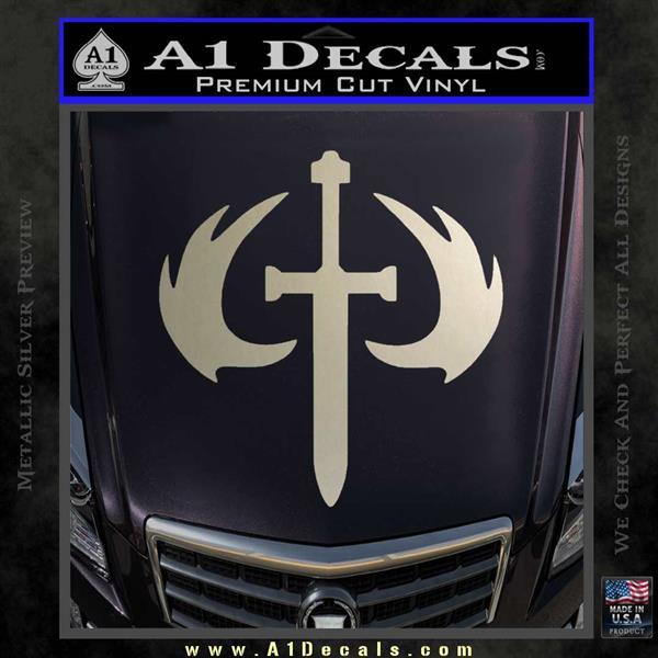 Halo 2 Sword Emblem Decal Sticker 187 A1 Decals