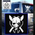 HALO 4 LEGENDARY VINYL DECAL White Emblem 120x120