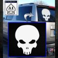 Halo Extermination Skull Logo Vinyl Decal White Emblem 120x120