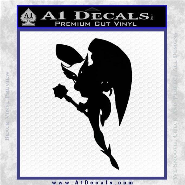 Hawkgirl Decal Sticker Justice League Black Logo Emblem