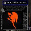 Hawkgirl Decal Sticker Justice League Orange Vinyl Emblem 120x120