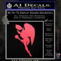 Hawkgirl Decal Sticker Justice League Pink Vinyl Emblem 120x120
