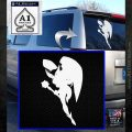 Hawkgirl Decal Sticker Justice League White Emblem 120x120