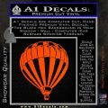 Hot Air Balloon NM Decal Sticker Orange Vinyl Emblem 120x120