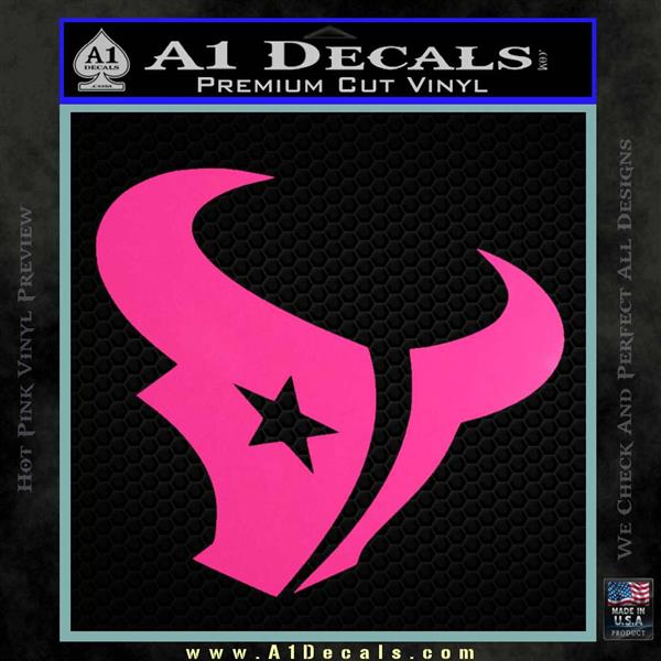 quality design c4629 c6bc6 Houston Texans Decal Sticker Logo » A1 Decals