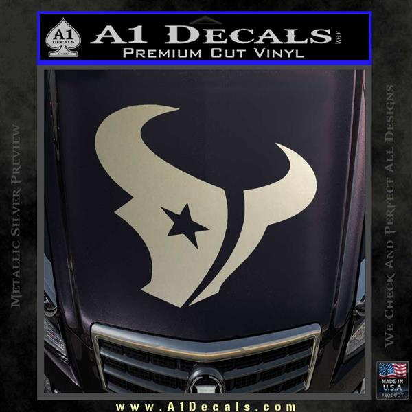 Perfect Houston Texans Decal Sticker Logo » A1 Decals QB21
